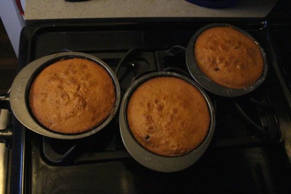 Mini Cakes Baked