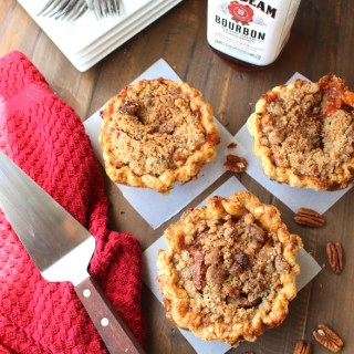 Award Winning Maple Bourbon Peach Pecan Pie