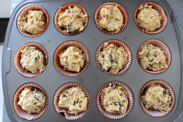 Pumpkin Muffins in cupcake liners