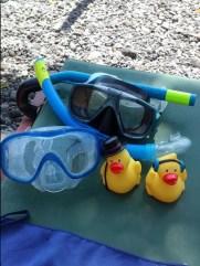 Mike et Kévin près pour le snorkeling