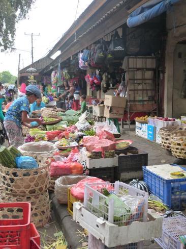 Vendeurs à Jimbaran