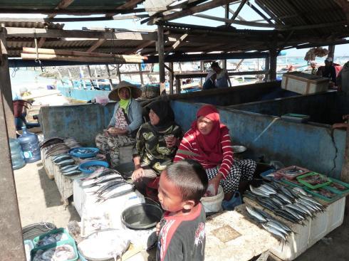 Vendeurs de poissons