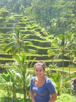 Ce paysages qu'on avait vu nul par ailleurs, ces rizières qui nous ont à chaque fois couper le souffle. Ces images de carte postale.