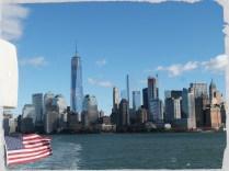 Vue de Manhattan depuis le bateau