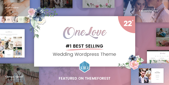 OneLove - Awesome Wedding WordPress Theme