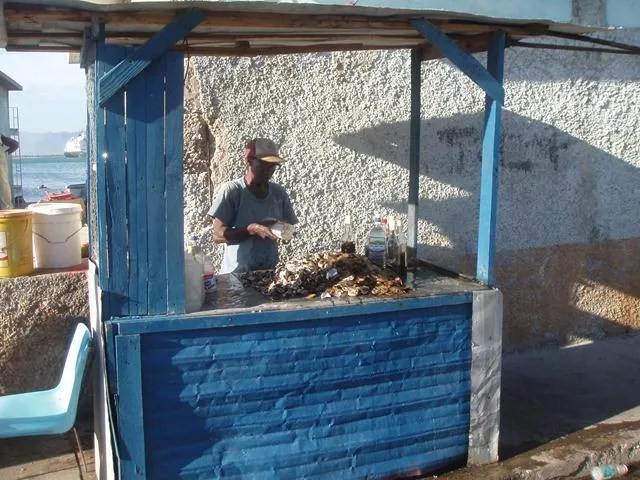 Oyster Seller - Jamaican Food