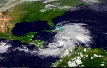 Tropical Storm Sandy approaches Jamaica