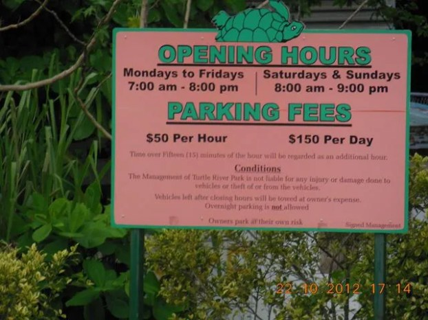 Turtle River Park opening hours