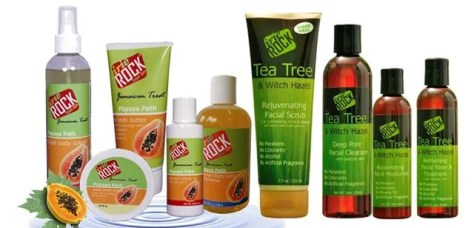 Irie Rock Yaad Spa Product Group