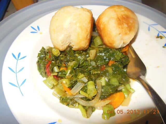 Jamaican Steamed Callaloo Recipe