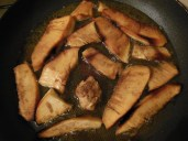 Fry the Breadfruit slices