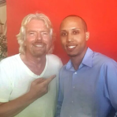 Richard Branson and I