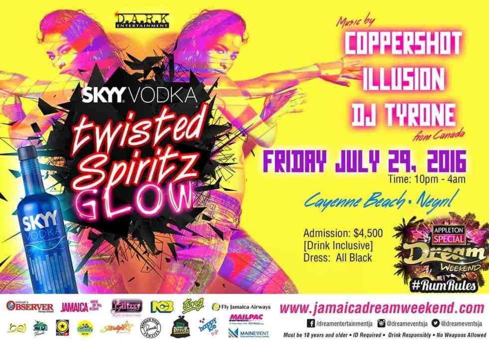 Twisted Spiritz Glow Party
