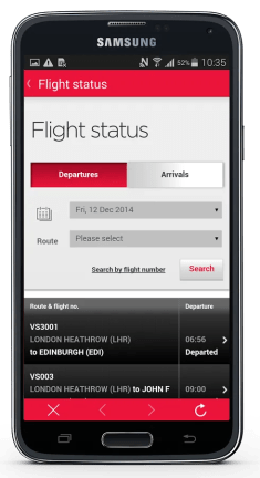 Virgin Atlantic App