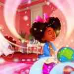 Anya goes to Jamaica magic globe