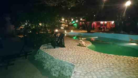 Jakes Restaurant at Night