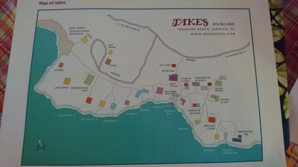 Map of Jakes Hotel