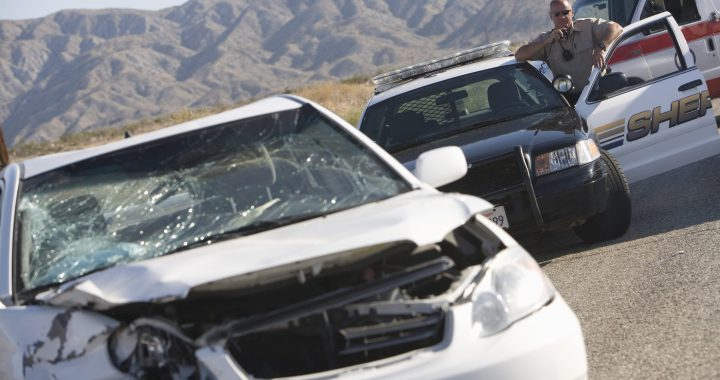 Serious Injuries Reported After 10 Freeway Crash [Chiriaco Summit, CA]