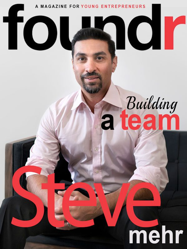 Foundr Magazine features Steve Mehr in 'Worlds Most Influential Entrepreneurs' book