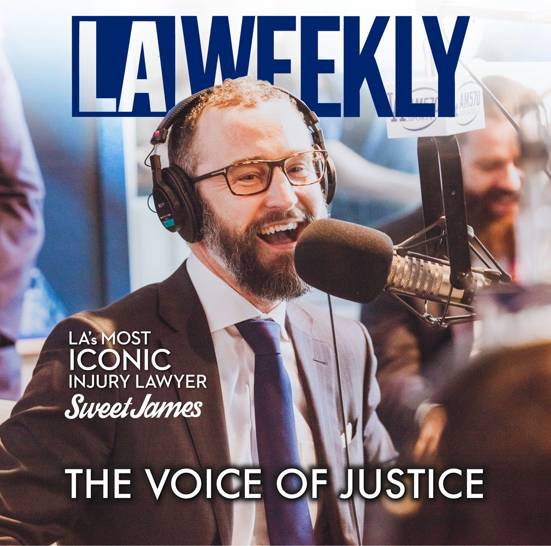 Sweet James Bergener featured on Cover of LA Weekly Magazine