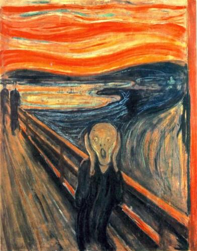 Il n'y avait que ce tableau d'Edward Munch pour traduire l'effrayante perplexité dans laquelle m'a plongée ce navet.