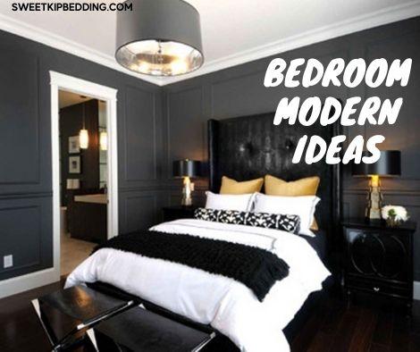 ห้องนอน ผ้านวมสีขาว