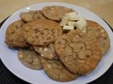 White and Milk Chocolate Chip Cookies
