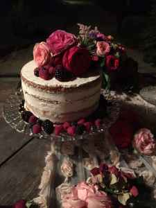 torta con le rose - Cake design Torino - Sweet Lab