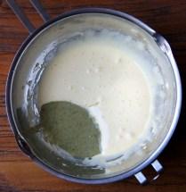 Add nut mixture