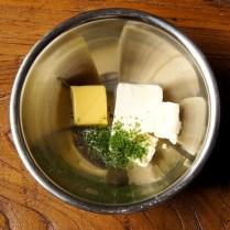 Butter+cream cheese+juice+zest