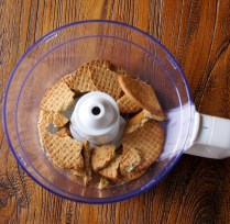 Biscuits in the food processor