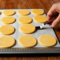 Carefully place on baking tray