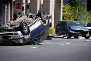 1 Dead in Overturned SUV Crash on Rosecrans Avenue Near Funston Avenue [Norwalk, CA]