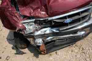 Woman, Man Hospitalized in Solo-Car Crash on Main Street Near 5 Freeway [San Diego, CA]