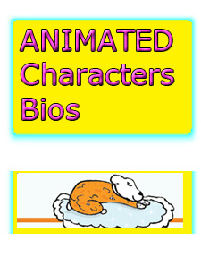 Sweetles Animated Character Bios