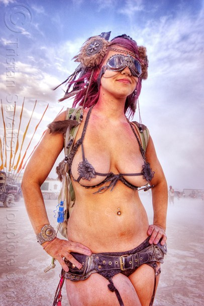 burning man hot chicks