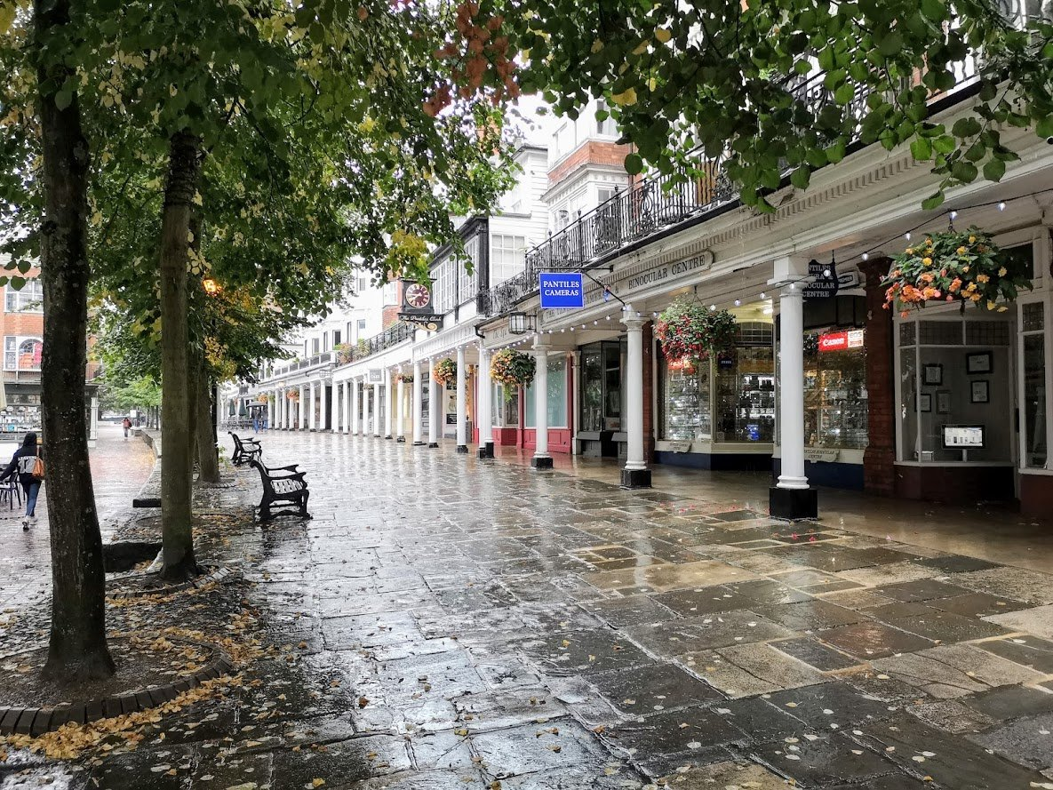 The Pantiles Royal Tunbridge Wells