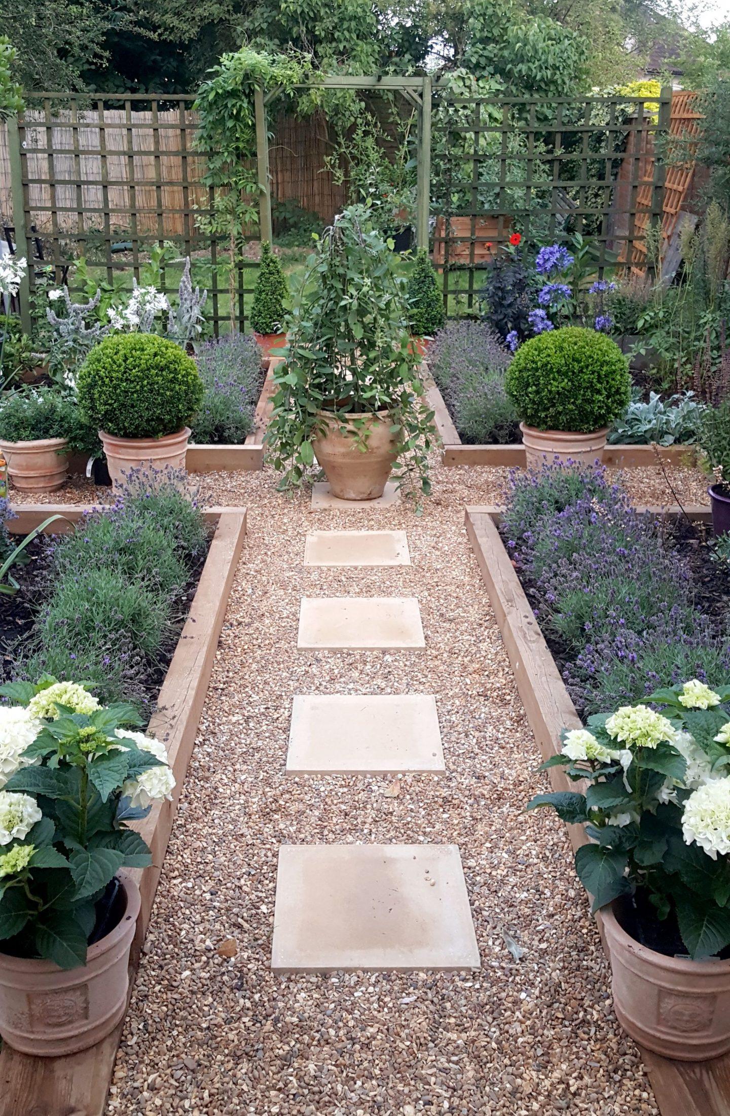 symmetry in garden