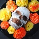 Dia de Los Muertos – Chocolate Skull Cake