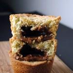 Avocado Dulce de Leche Muffins