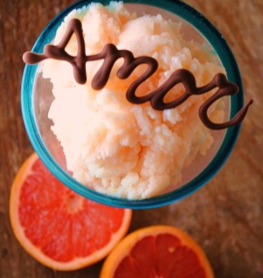 Grapefruit Buttermilk Granita