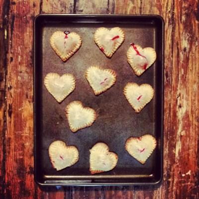 Strawberry Love Pies