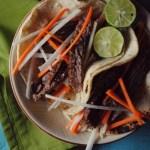 Ponzu Fajita Tacos