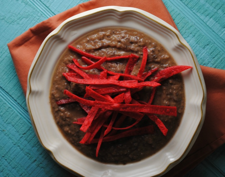 Cooking Light's Black Bean Soup