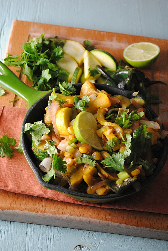 Calabacita Recipe (squash) from Cooking Light