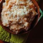 Chipotle Cheddar Mashed Potatoes – Puré de Papas con Chipotle y Queso Cheddar