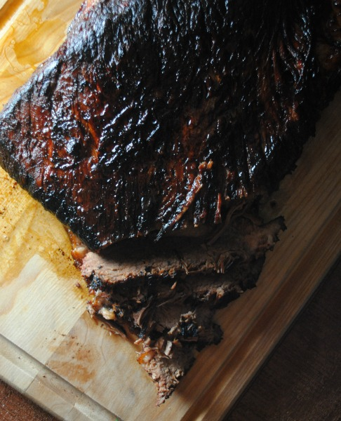 Beer Braised Brisket - recipe from sweetlifebake.com
