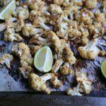 Roasted Pepita Crusted Cauliflower