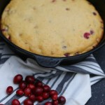 Spicy Cranberry Cornbread