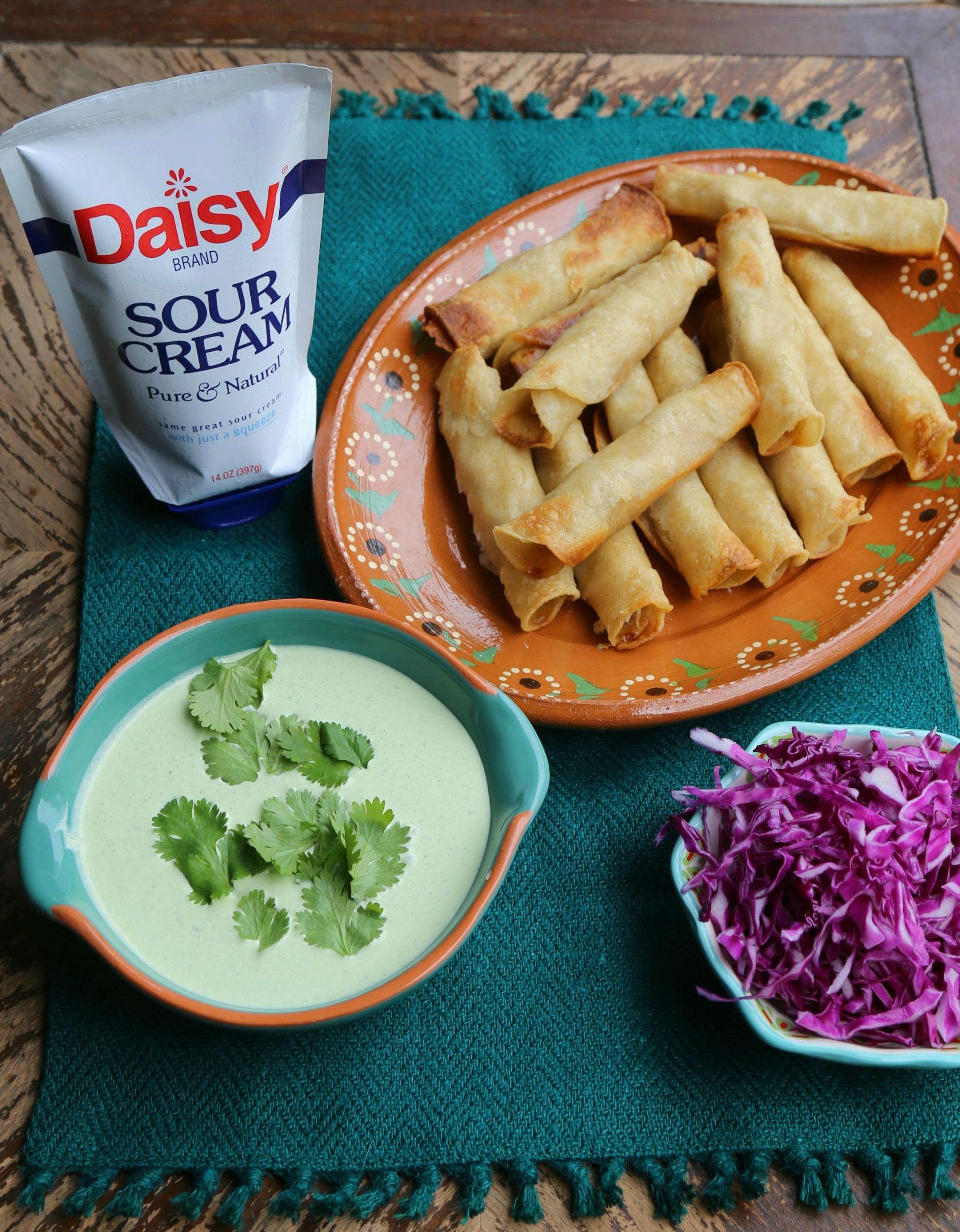 baked-taquitos-poblano-cream-sauce-vianneyrodriguez-sweetlifebake